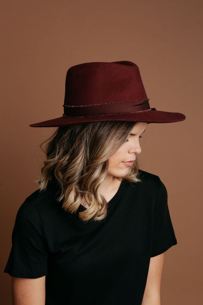 Griffith Hat - Burgundy