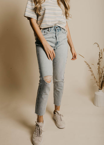 Haley High Rise Denim