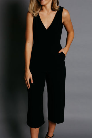 Hallie Jumpsuit - Black