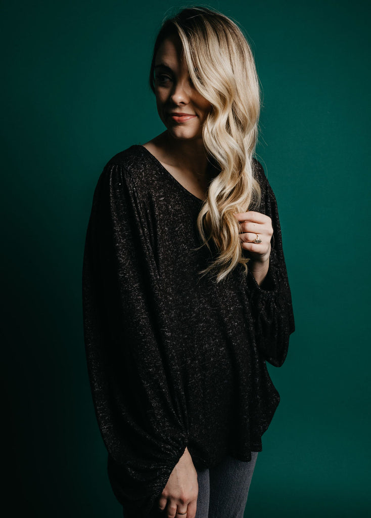 Harlow Top - Charcoal