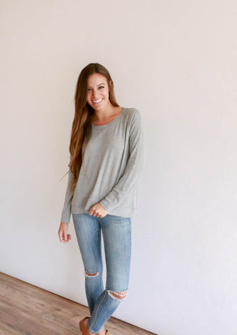 Hattie Sweater - Grey
