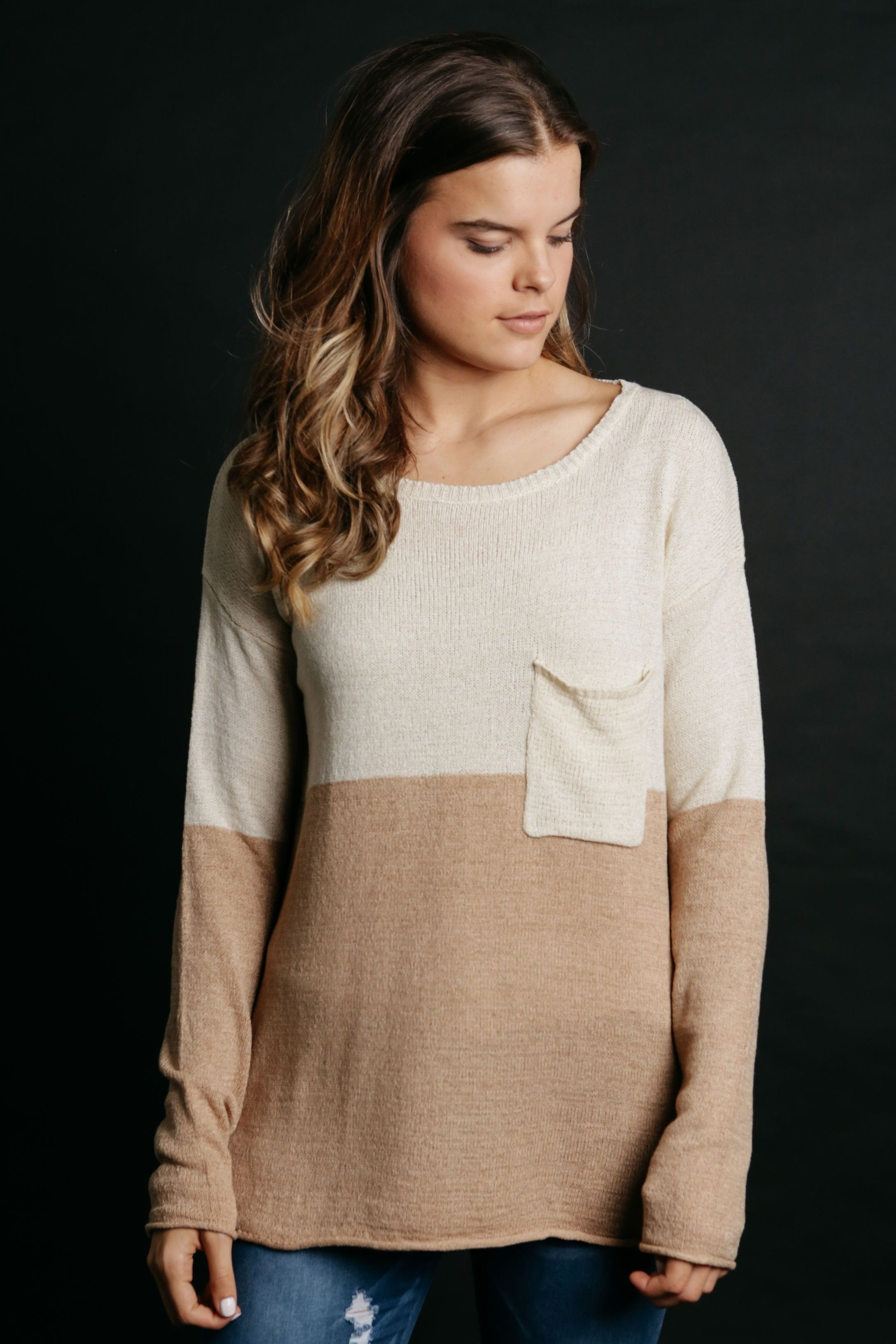 Haven Top - Taupe
