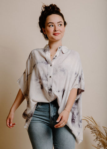 Hermione Blouse - Grey