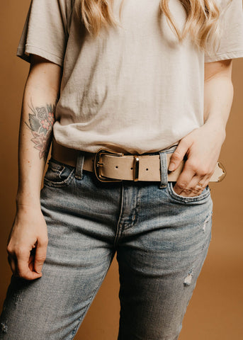 Houston Belt - Ivory
