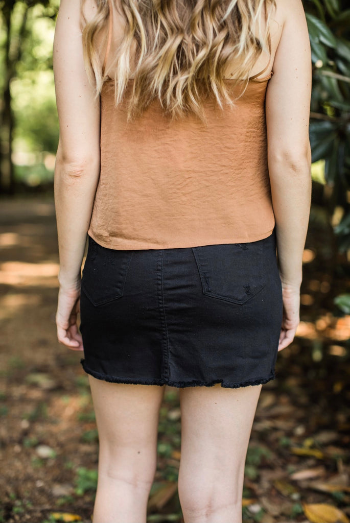 Salem Denim Skirt