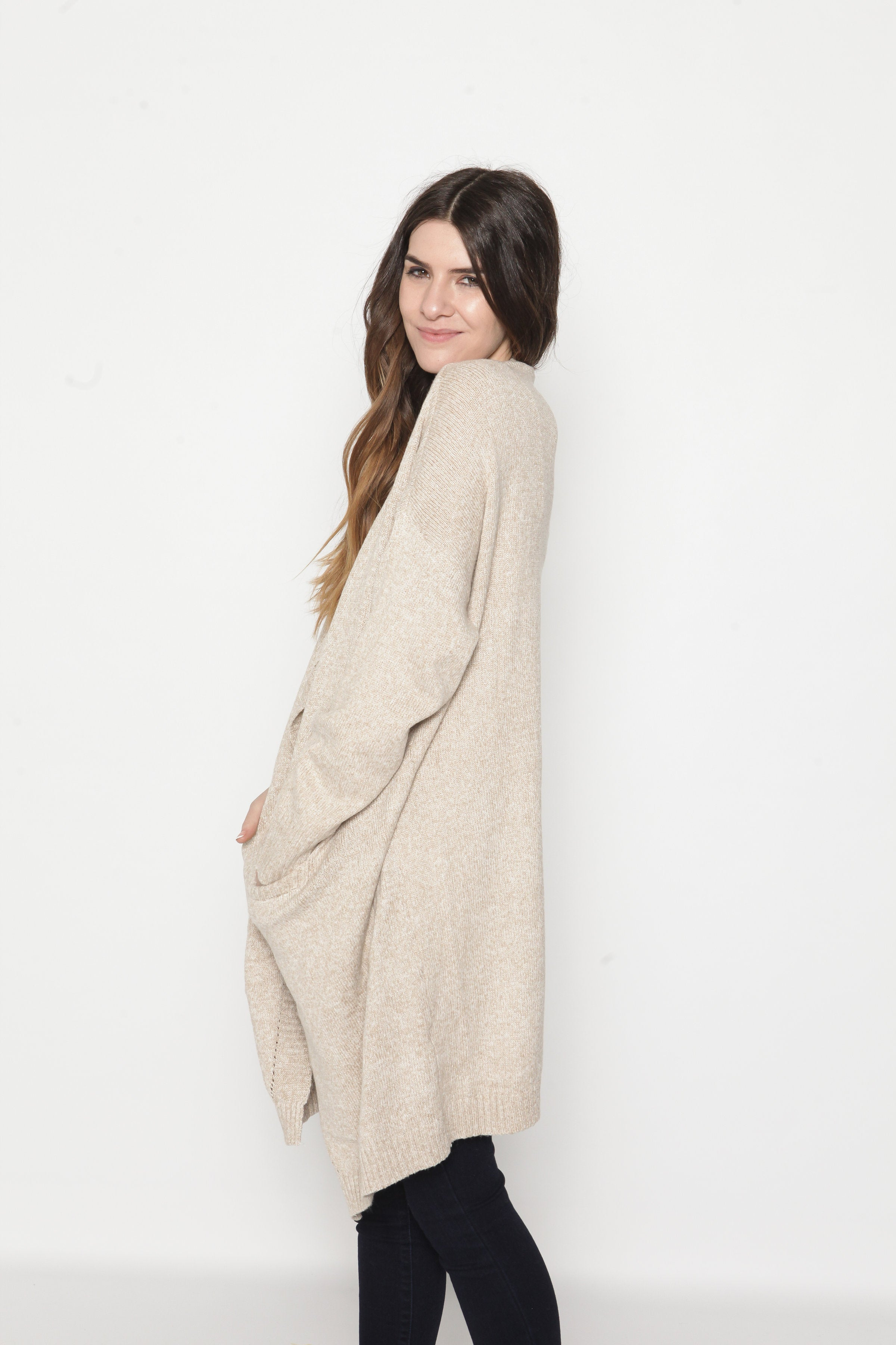 June Cardigan - Oatmeal