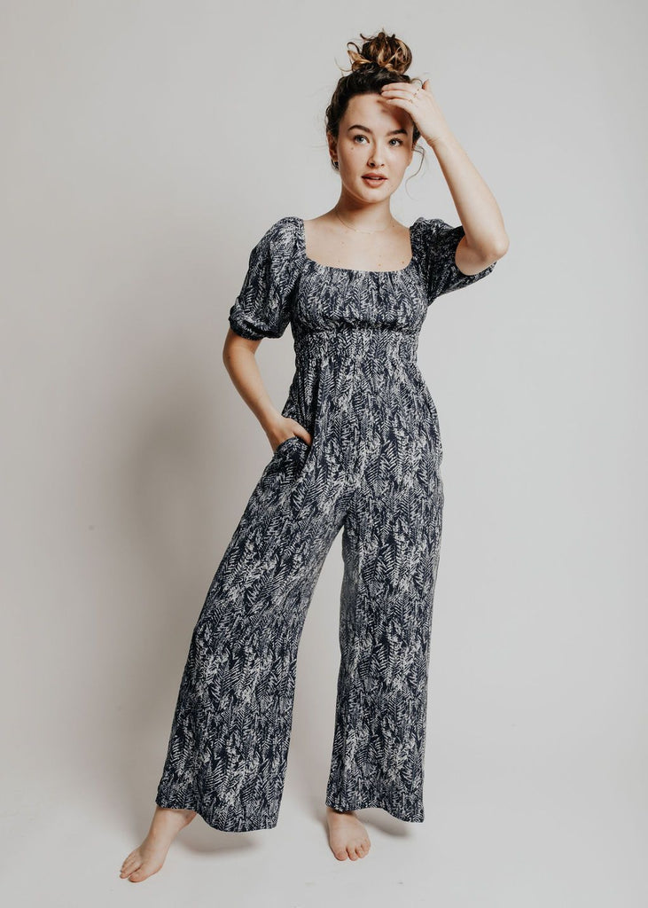 Into The Blue Jumpsuit