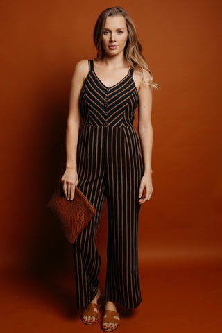 Iris Striped Jumpsuit