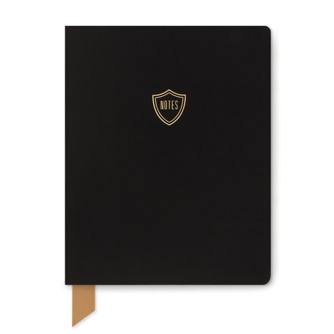 Black Shield Notebook
