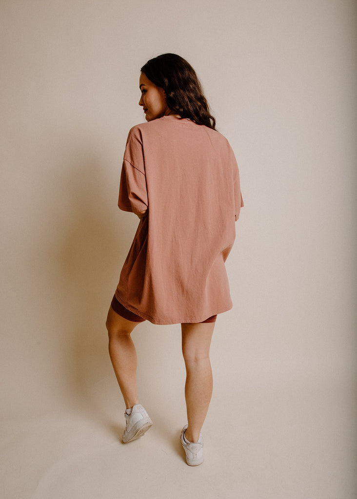 Joey Oversized Tee - Copper