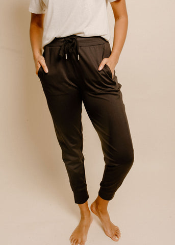 Jumping for Joy Joggers - Black