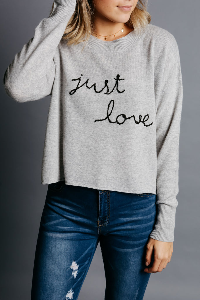 Just Love Sweater