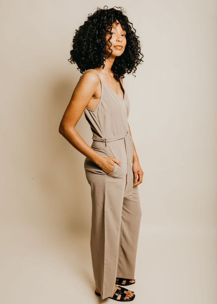 Kai Jumpsuit - Pewter