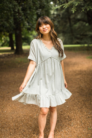 Kamryn Dress - Light Blue