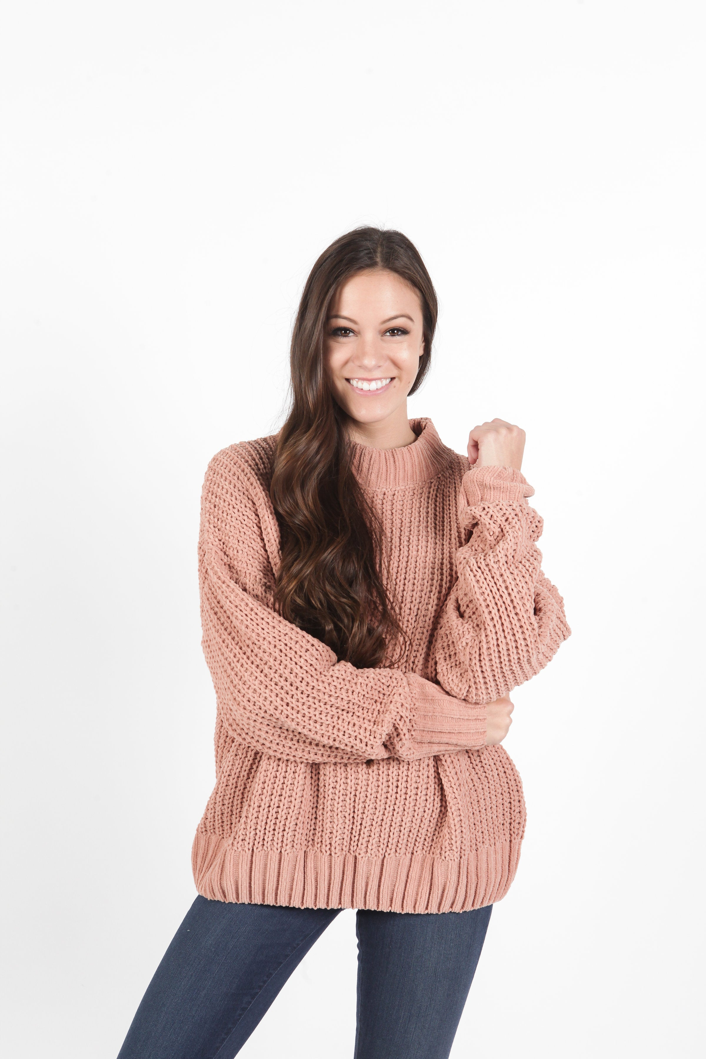 Kathleen Sweater - Peach