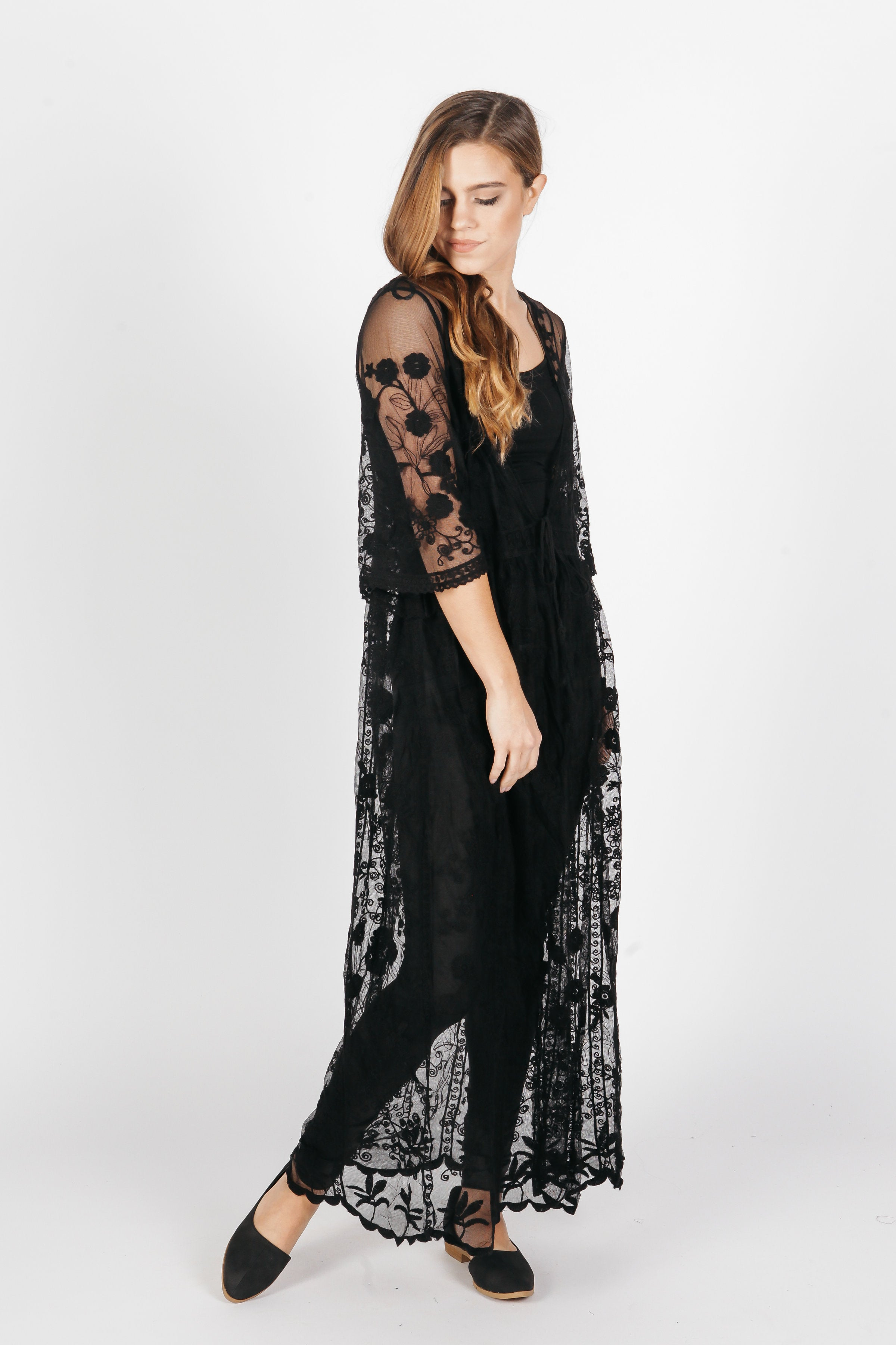Keely Duster - Black