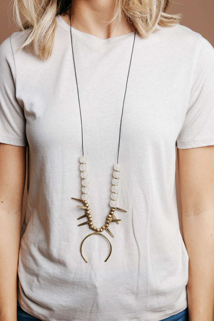 Kemba Crescent Necklace