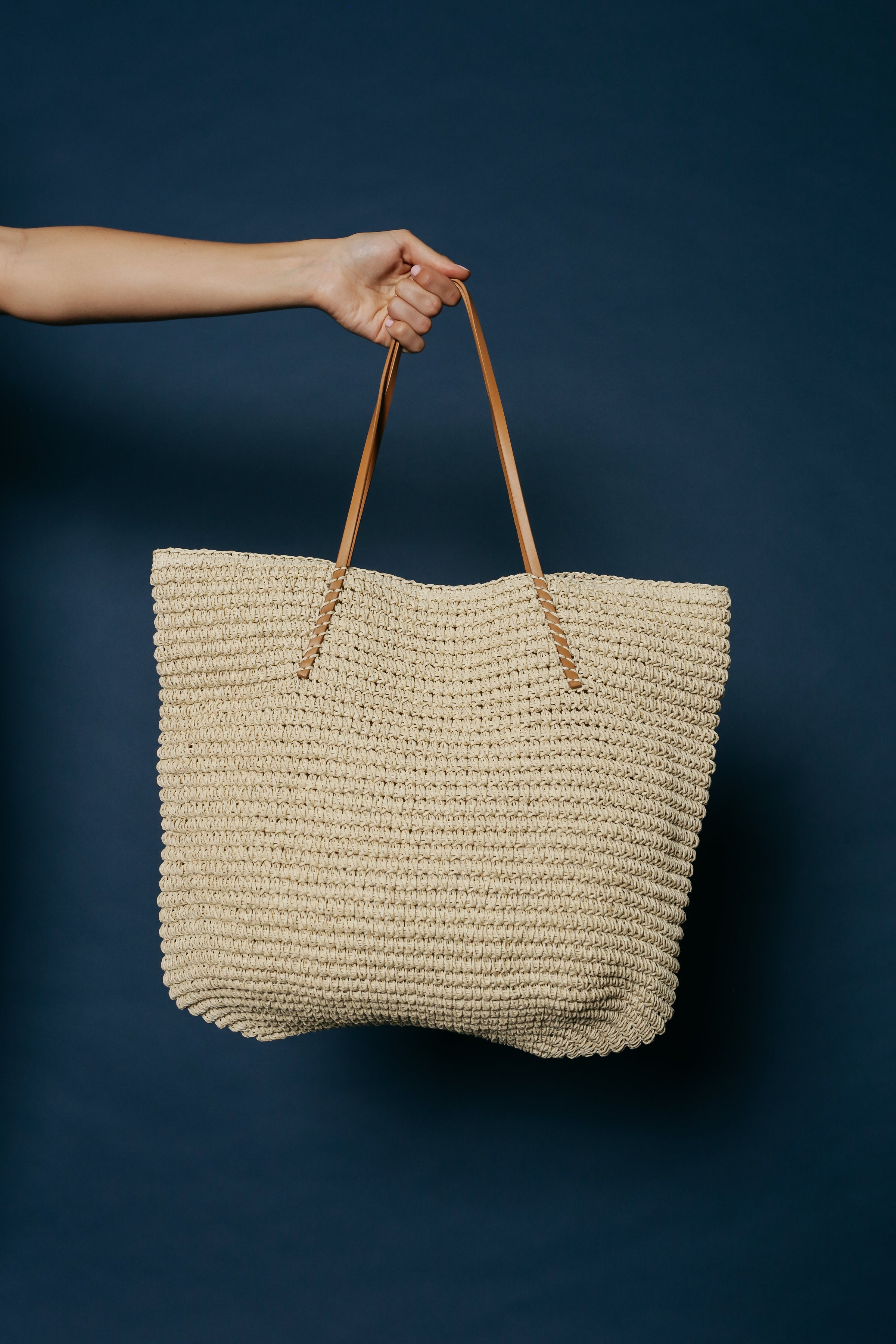 Key West Tote - Ivory