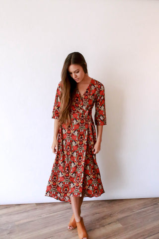Konny Wrap Dress