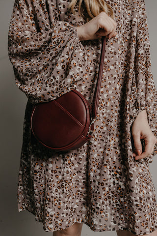 Kristina Belt Bag - Plum