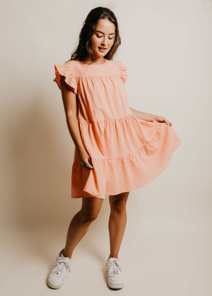 Lincoln Dress - Coral