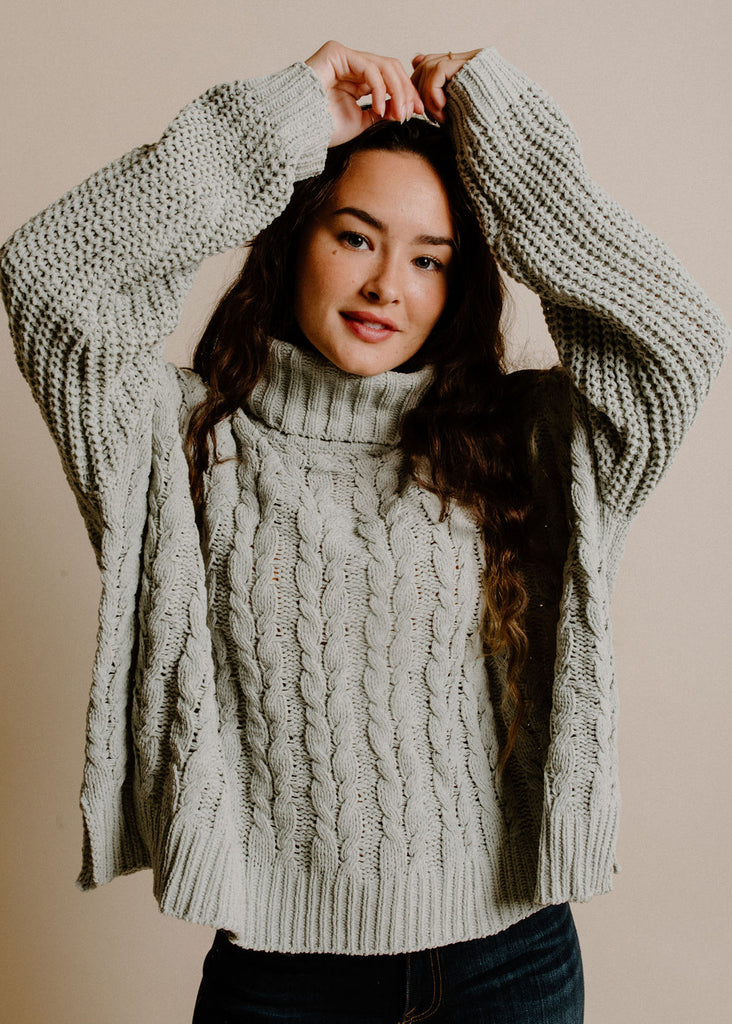 Lorelei Sweater - Sage