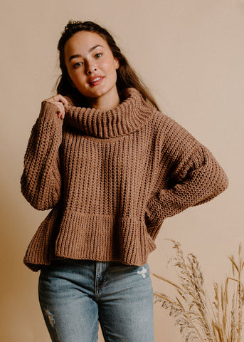 Louie Sweater - Mocha