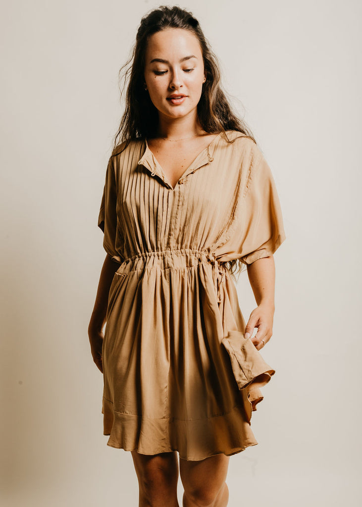 Louisa Dress - Camel