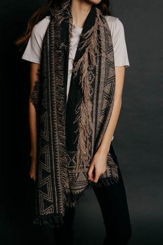 Maggie Scarf - Charcoal
