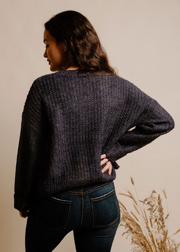 Marcela Sweater - Navy