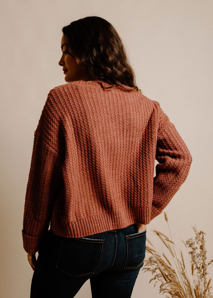 Marcela Sweater - Rust