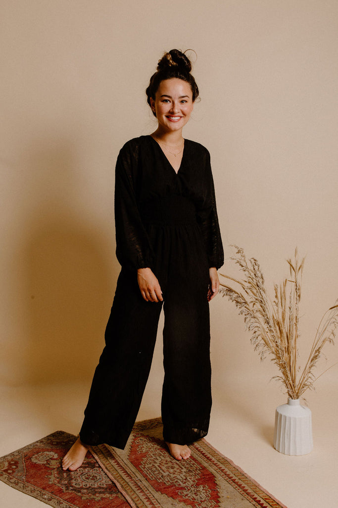 Margo Jumpsuit - Black
