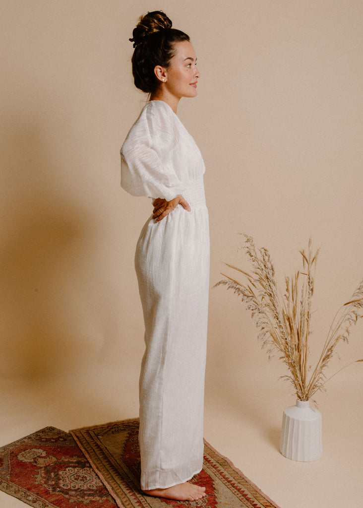 Margo Jumpsuit - White