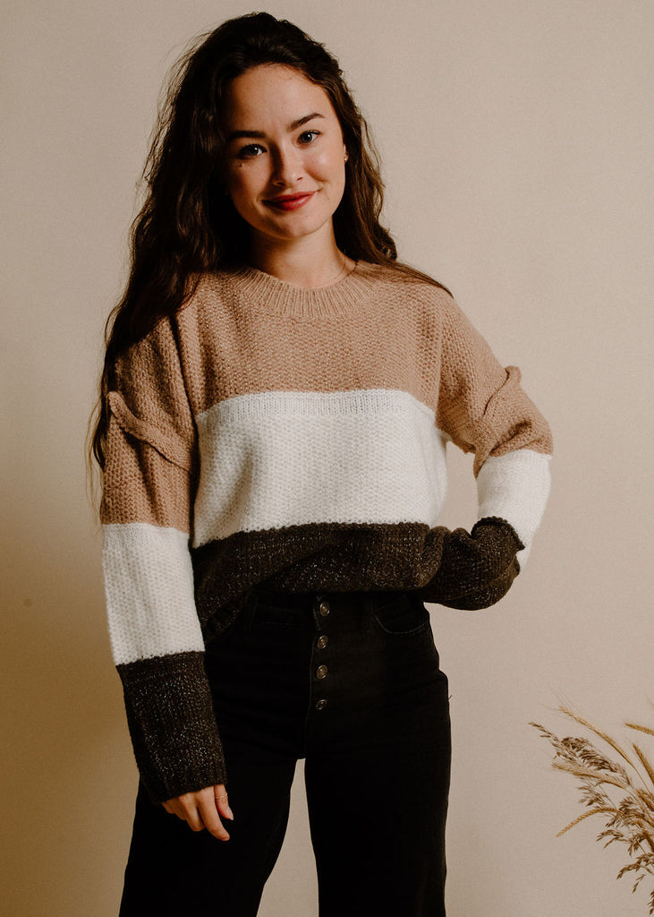 Marilee Sweater - Taupe