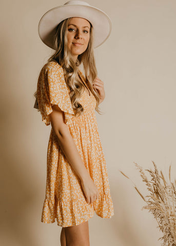 Marley Dress - Marigold