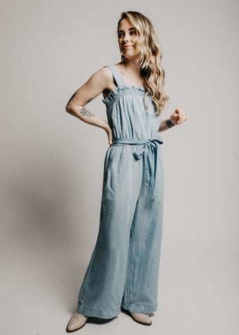 May Denim Jumpsuit