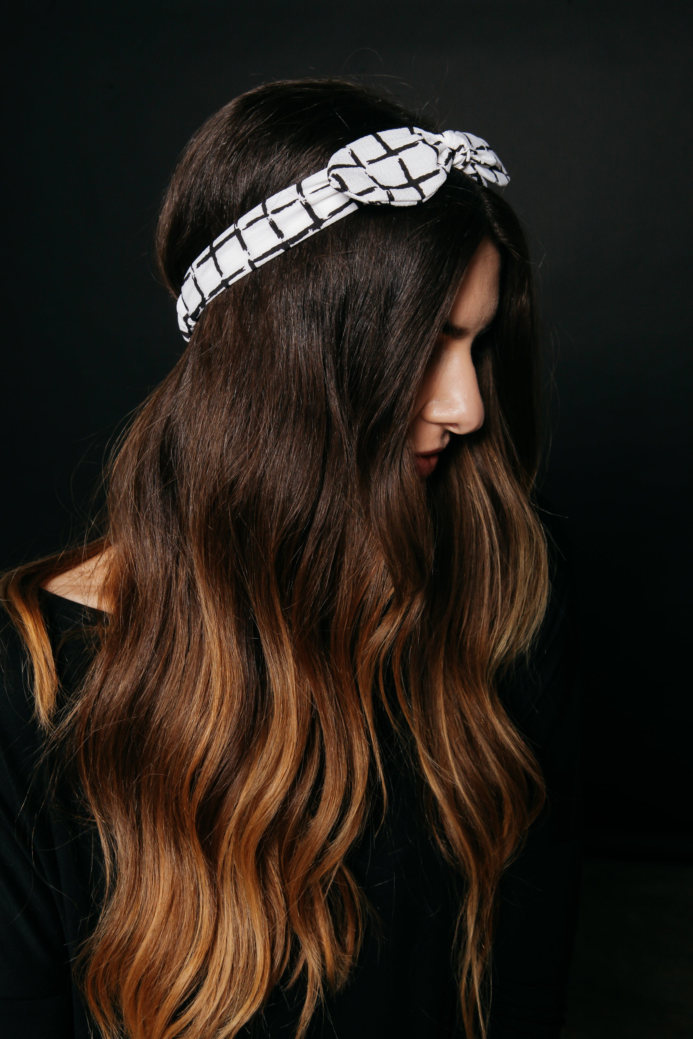 Meg Headband - White