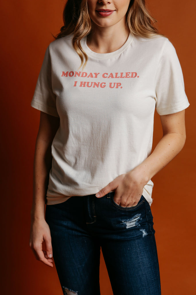 Monday Called Tee