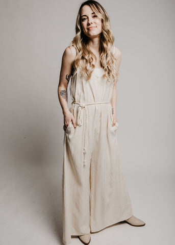 Morgan Jumpsuit - Ivory