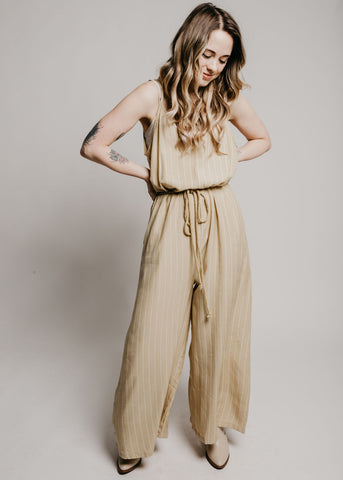 Morgan Jumpsuit - Mustard