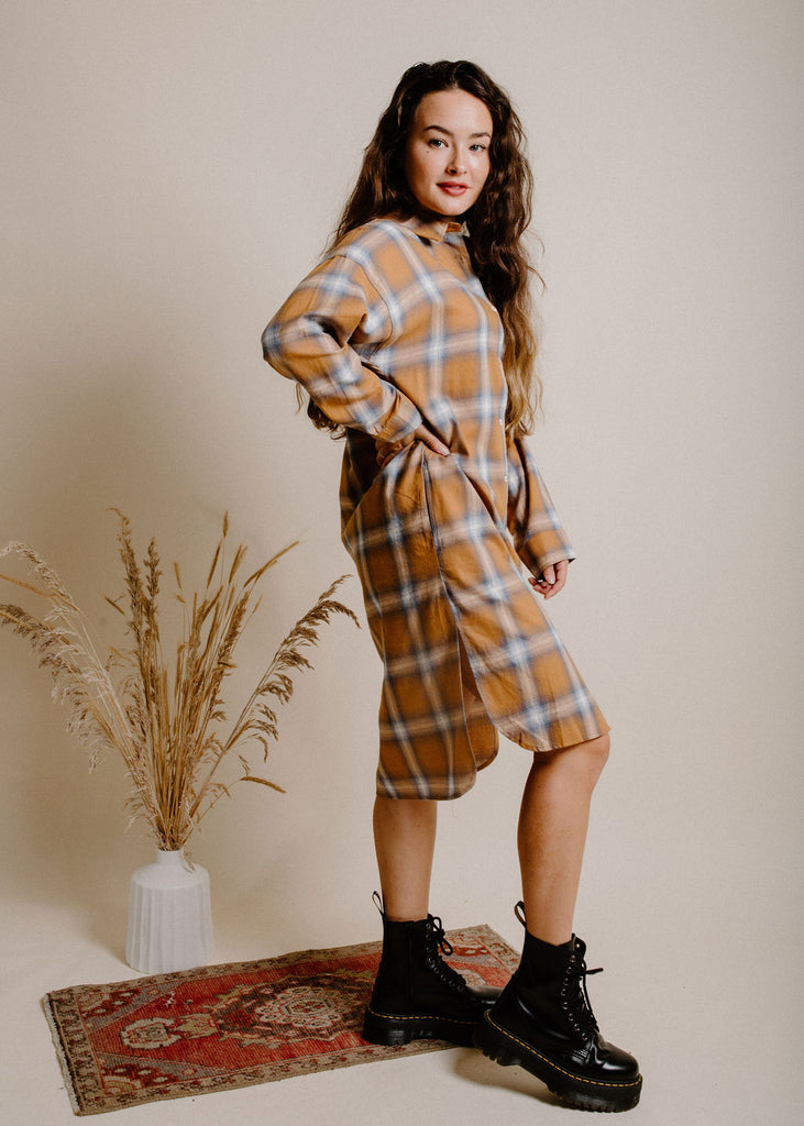 Nico Plaid Dress