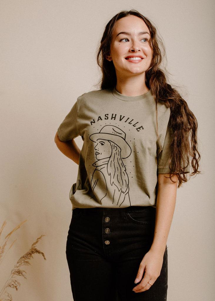 Nash Cowgirl - Olive