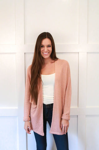 Natalie Cardigan - Rose