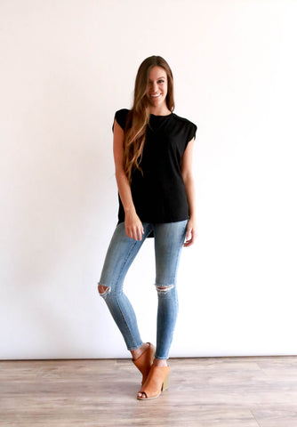 Noelle Top - Black