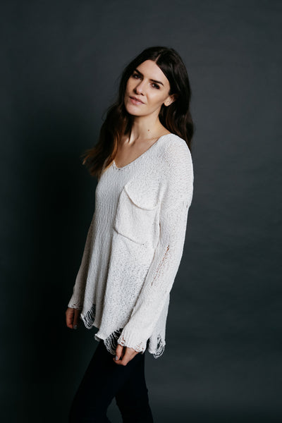 Nora Sweater - Cream