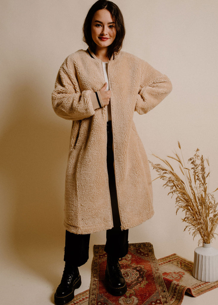 Nori Teddy Jacket - Beige