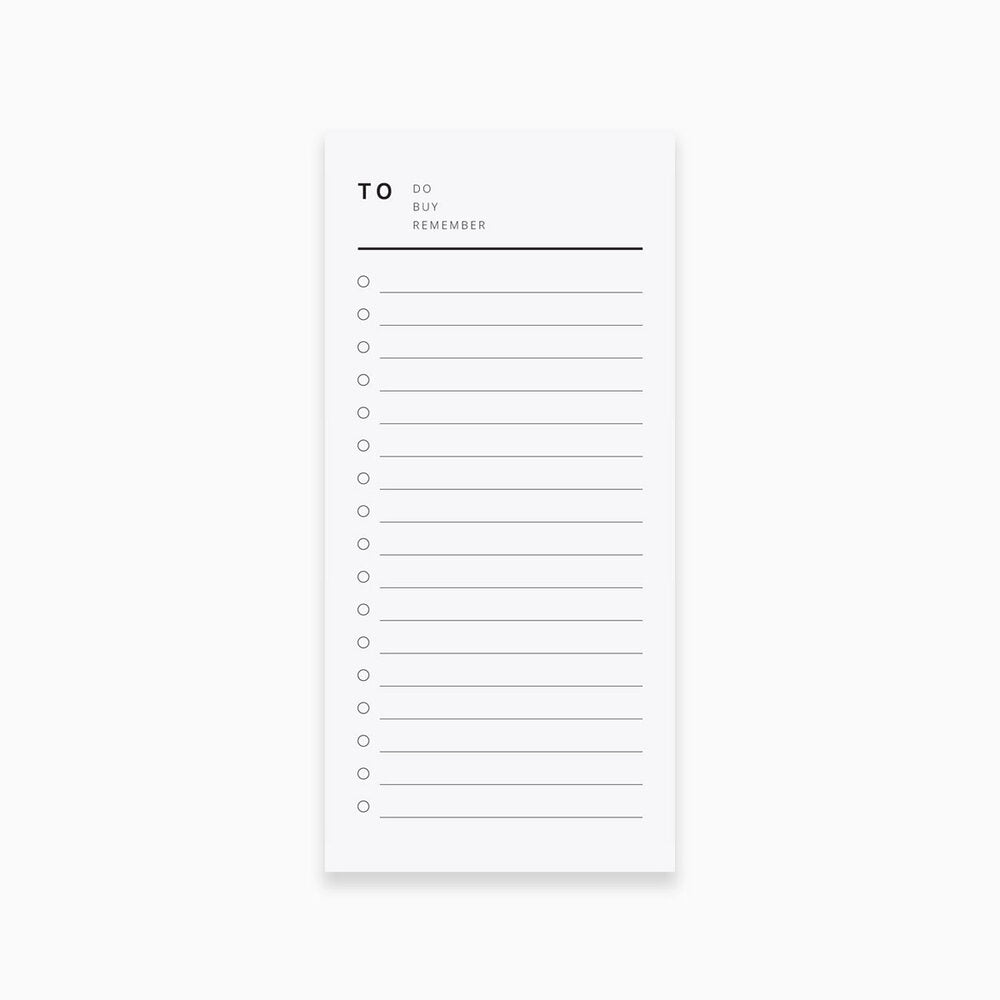 The List Notepad