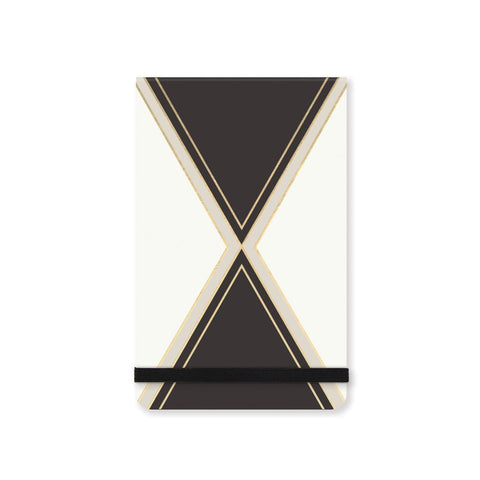 Black Harlequin Note Pad