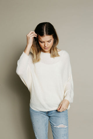 Paige Sweater - Natural