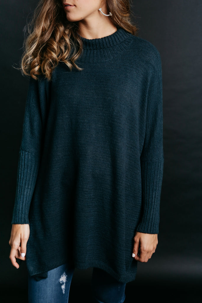 Payton Sweater - Teal